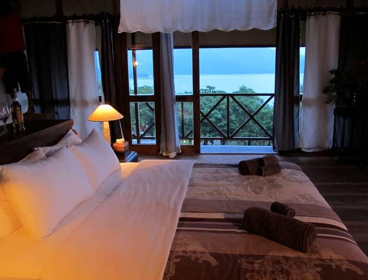 Superbe chambre avec vue sur la mer