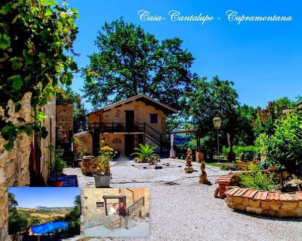 Casa-Cantalupo/Haus Casa-Lungo - Cupramontana - Huis