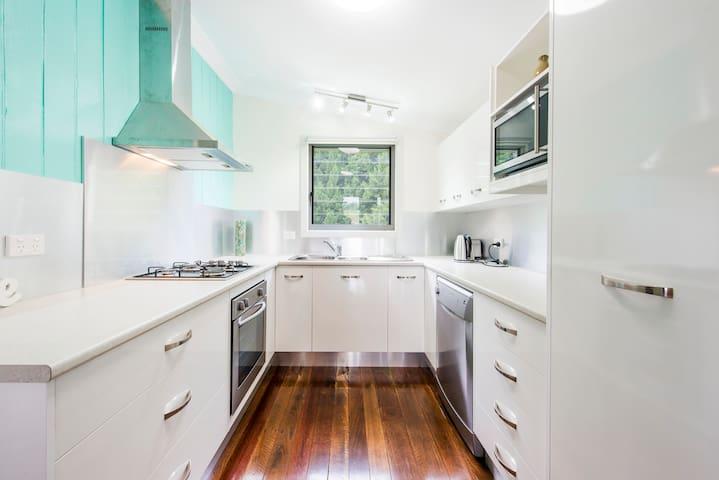 Modern fully equipment kitchen