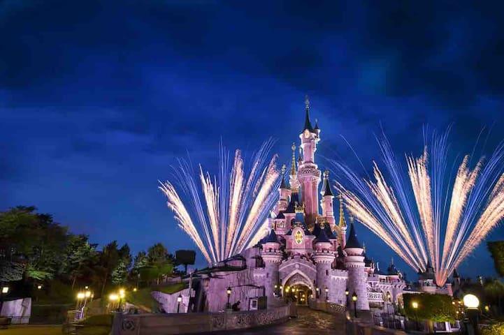 ❣️Pavillon 6 personne 15 minutes Disneyland Paris.❣️