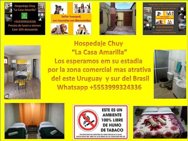 Hospedaje Chuy  La Casa Amarilla