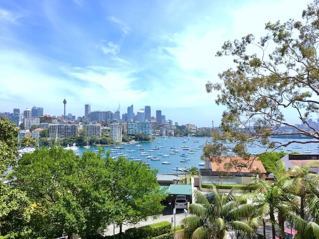 Beautiful views from exclusive suburb - Darling Point