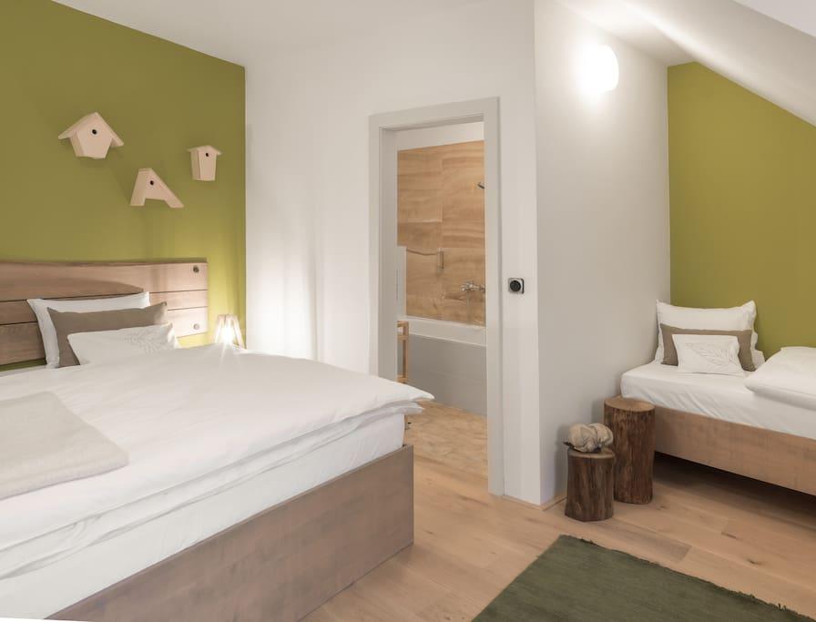 One Bedroom Apartment Attic Blossom
