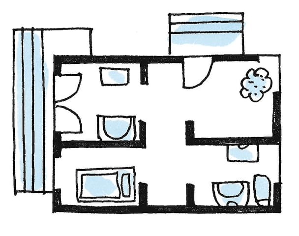 Zimmer im 12 Bezirk Wien - Fehring - Apartament