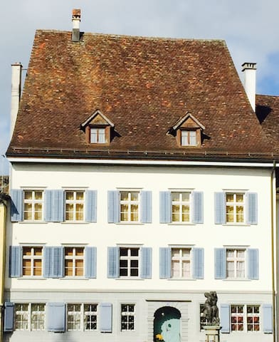 Old traditional town house - Bischofszell - Hus