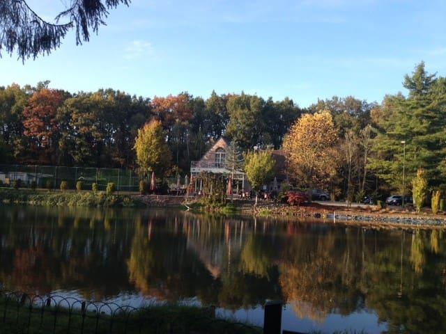chalet mobiel- in een privé park - Begijnendijk - Huis