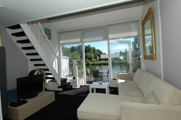 Romantic house at the river Vecht - Breukelen - Apartment