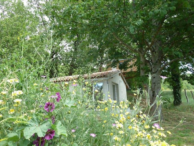 Gîte Studio + cabane perchée - Mansonville - Houten huisje