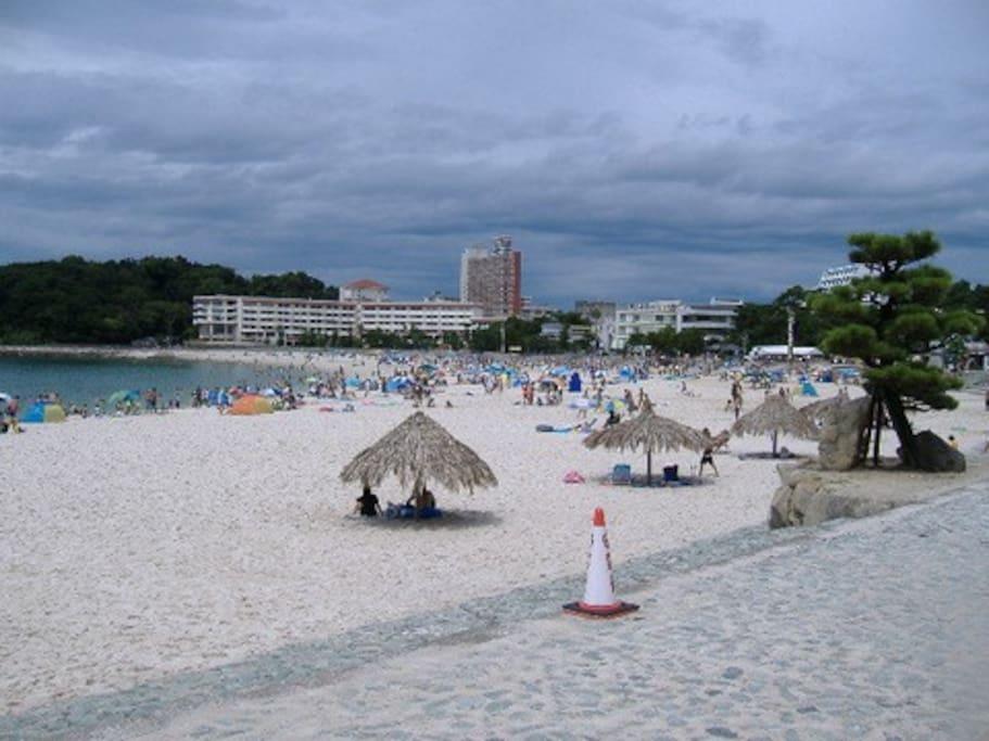 2 минуты ходьбы от пляжа