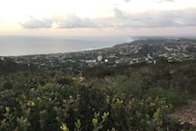 View from Mt Soledad Park (3 miles away)
