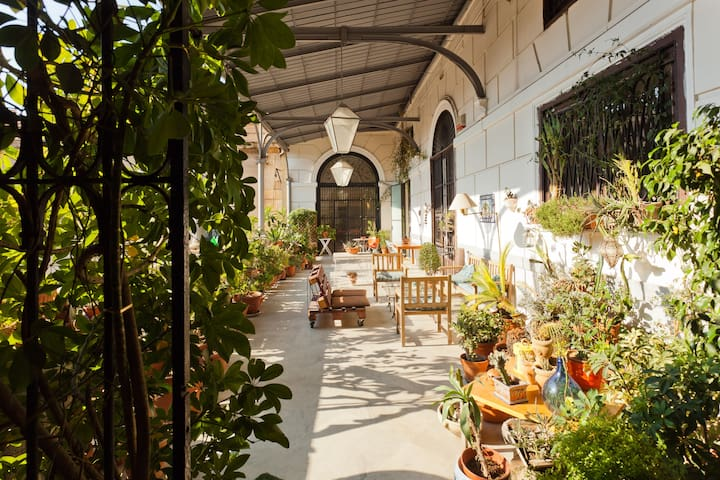 A terrace in the heart of Palermo!