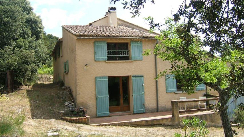 Le mas la Jasson calme et nature - Roaix - House