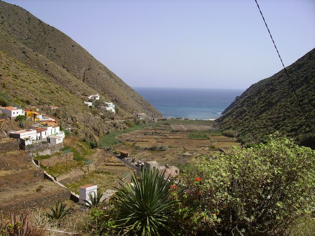 """Away from it all"" in La Gomera,"