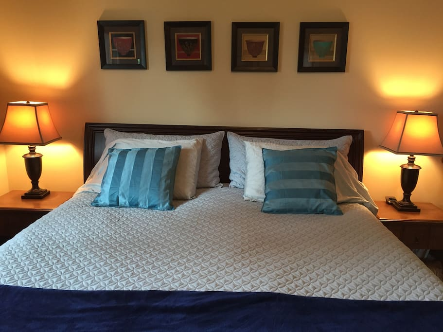 Master bedroom with 2 piece ensuite.