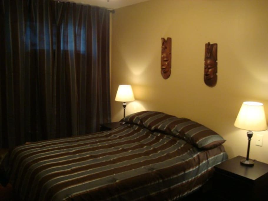 Chambre lit double / Bed room double bed