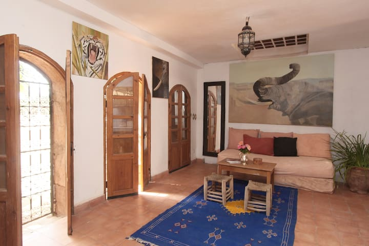the painter's house, near Marrakech - Aghmat - Apartamento