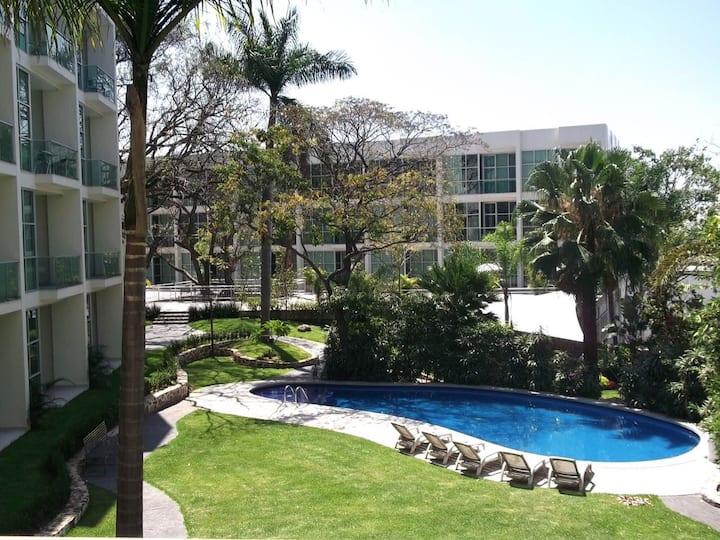 Hermosa estancia en Cuernavaca