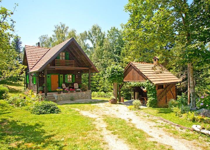 """Magical wooden house """"Šumska oaza"""""""