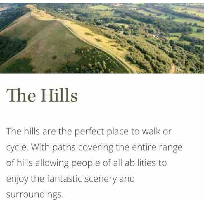 We having proper walking maps of the hills and around our pretty village..... for your use during your stay