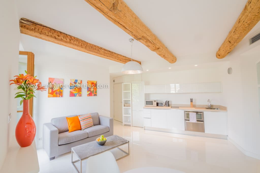 Bright & airy space.