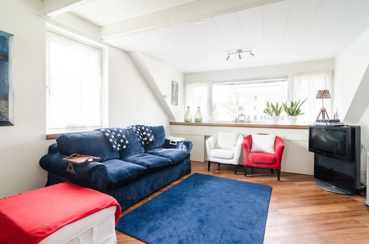Luxurious apartment with canalview - Utrecht - Daire