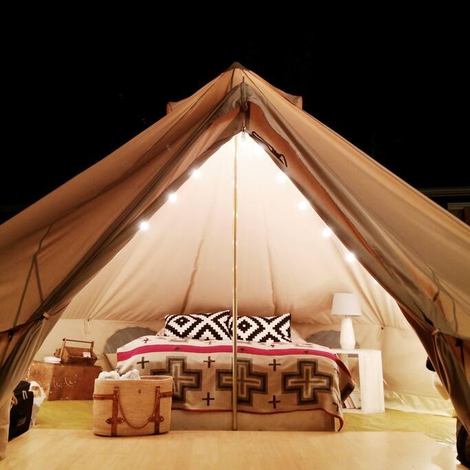 Wedding Tent Rentals Portland Oregon: Luxury Glamping In Hip Urban NE Portland