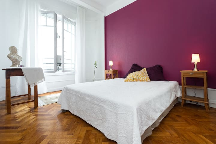 Centre Nice  10 min from beach - Nizza - Wohnung