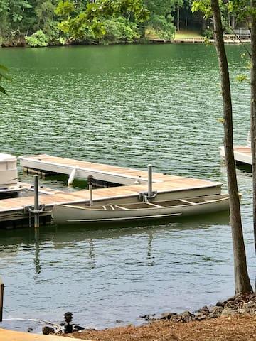 Dedicated boat slip behind condo