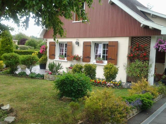 chambre de bienvenue - Saint-Martin-sur-le-Pré