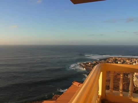 Pogled na more, sunce, mir i tišina u Zelenortskim otocima