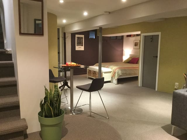 Newly Renovated  Ideally Located Annex Suite