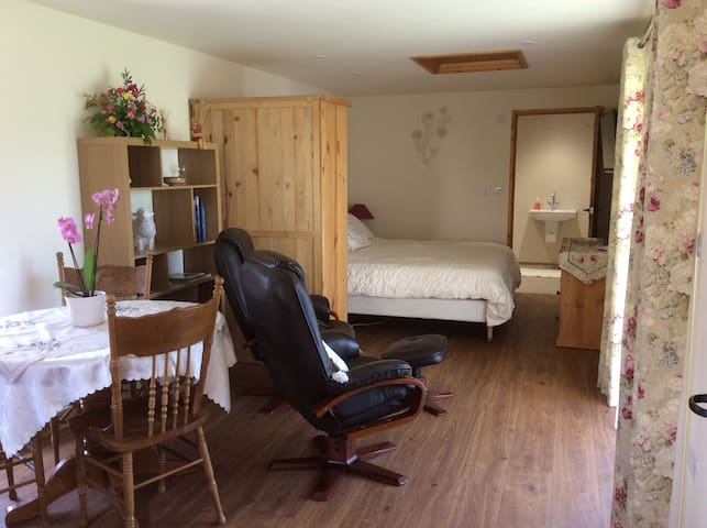 Self-contained groundfloor bedroom - Crediton - Daire