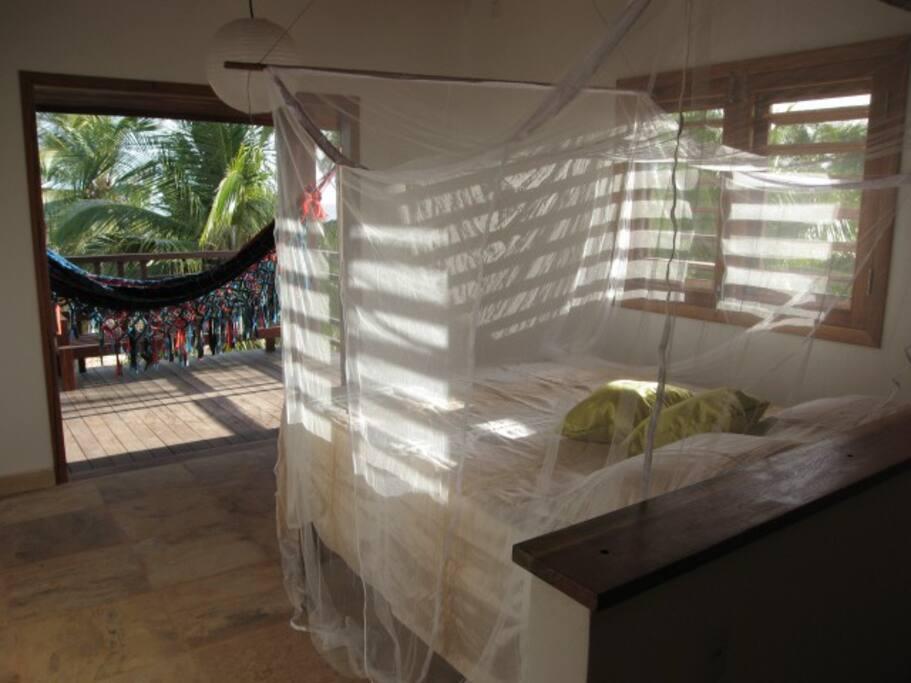 chambres ouvertes sur le jardin