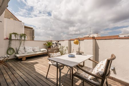 Apartment with terrace in Chamberi - Madrid - Apartment