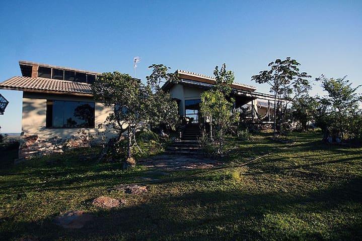 The 'Lion Room' in Villa Paraiso