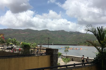 Lake Facing Garden Apartment - Lavasa