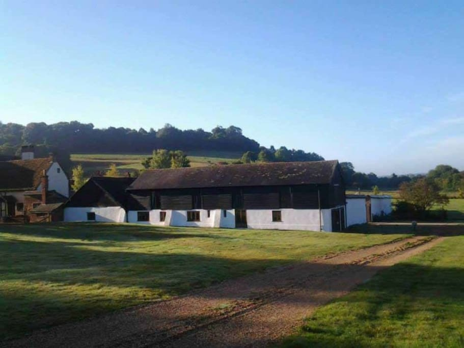 The Old Barns - 4 x 1 bedroom self catering cottages.  Bramble cottage is one of the middle cottages