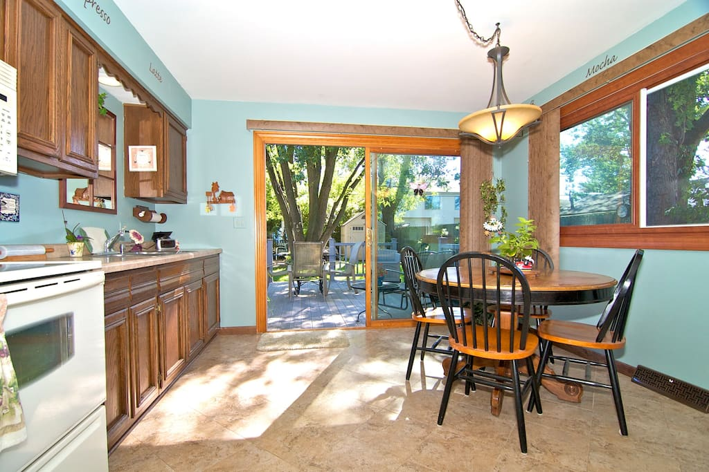 The kitchen where you can enjoy a delicious breakfast!