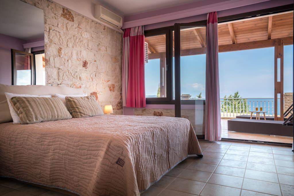 Bedroom, Sea View