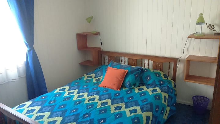 VISTA AL VOLCÁN, cama matrimonial + cama single