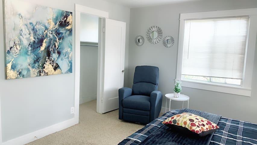Pasadena Room#5 Private bathroom 全新装修双人房独立卫生间