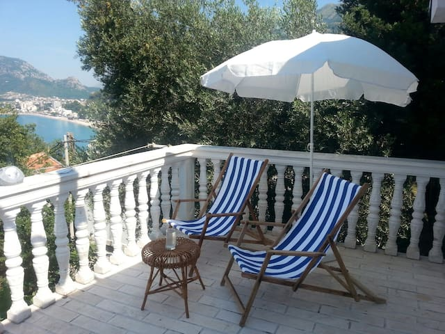 New apartment with sea views - Sutomore - Apartamento