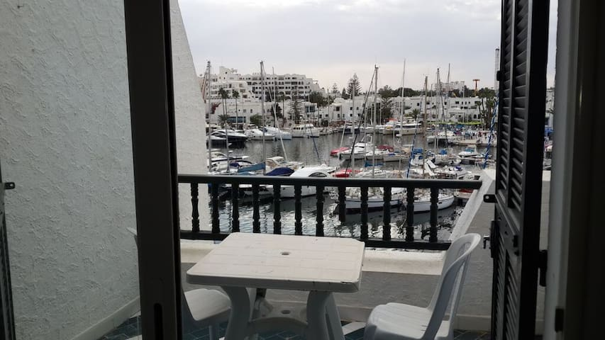 Apartement Marina port el kantaoui - Hammam Sousse - Leilighet