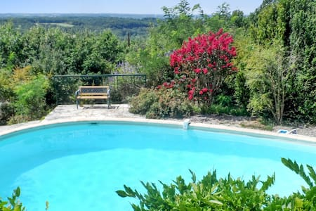 House with pool by idyllic village - Bruniquel