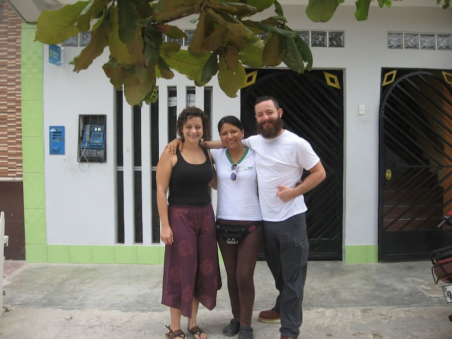 Family deal to my Airbnb guest / Trato familiar a mi huésped de Airbnb