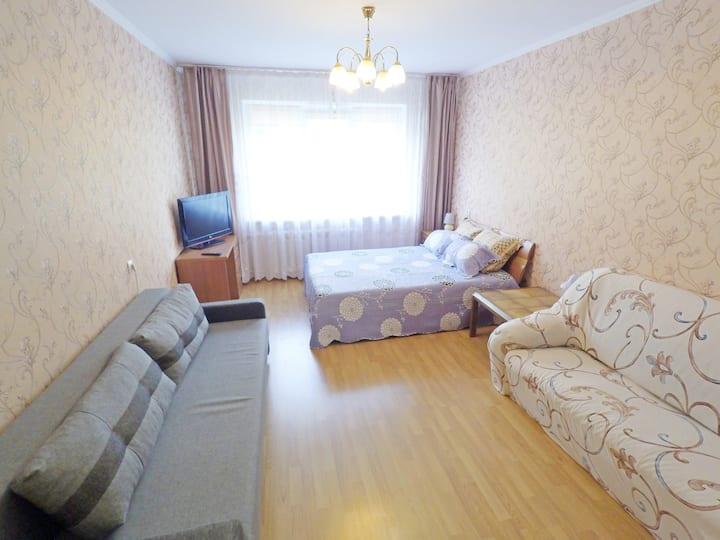 """3-room apartment - """"like at home"""" near the park"""