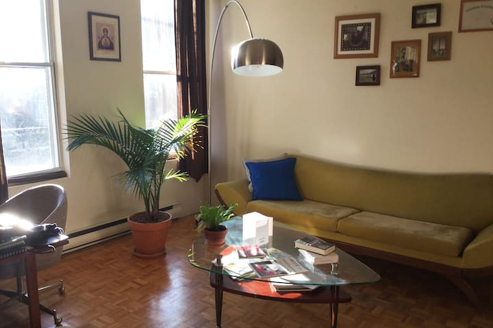 Mile-end, appartement calme et lumineux ! - Montréal - Apartament