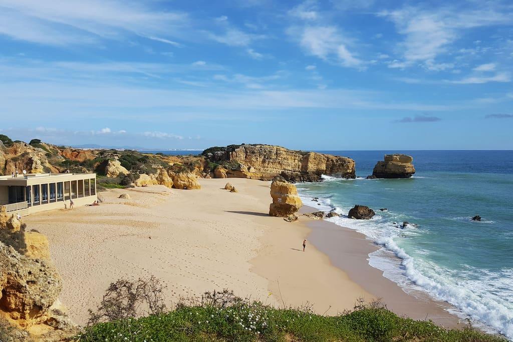 São Rafael Beach - a pleasant 10 minute walk away or 2 mins by car...