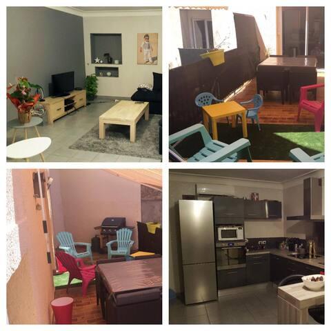 Appartement spacieux Poussan