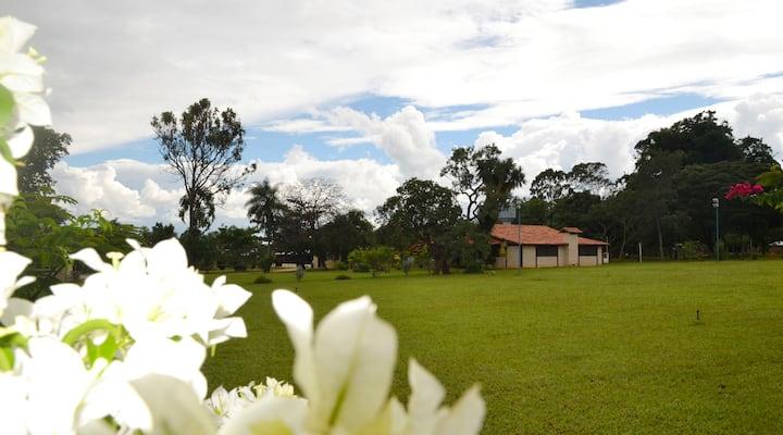 Casa de campo - natureza exuberante e sustentável!